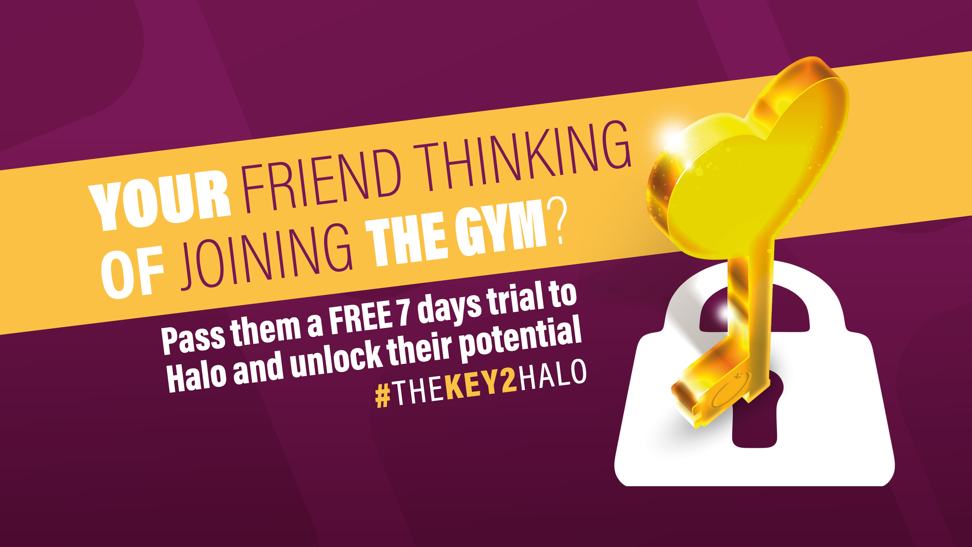 Homepage Banner - The Key (Friend)