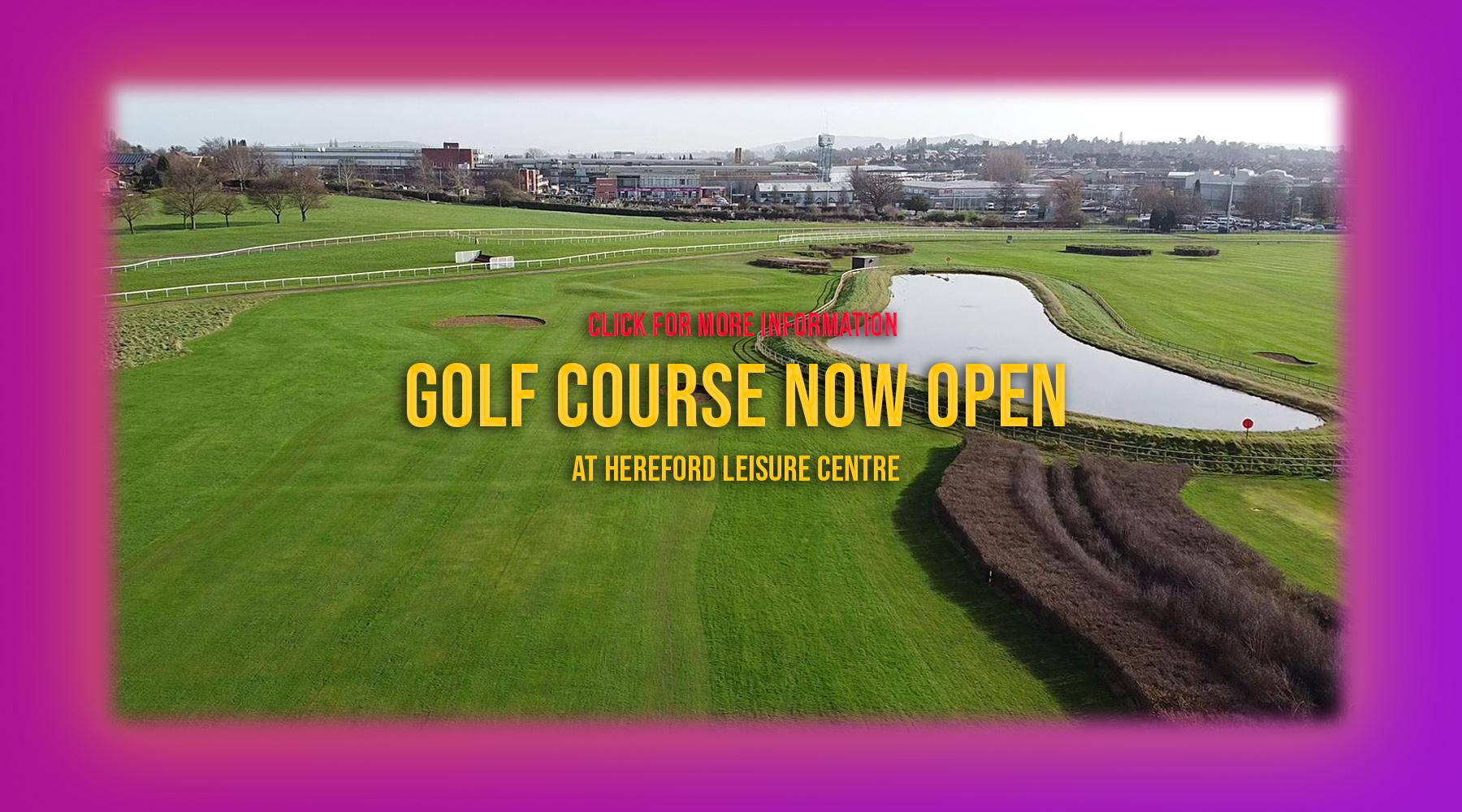 Homepage Banner golf