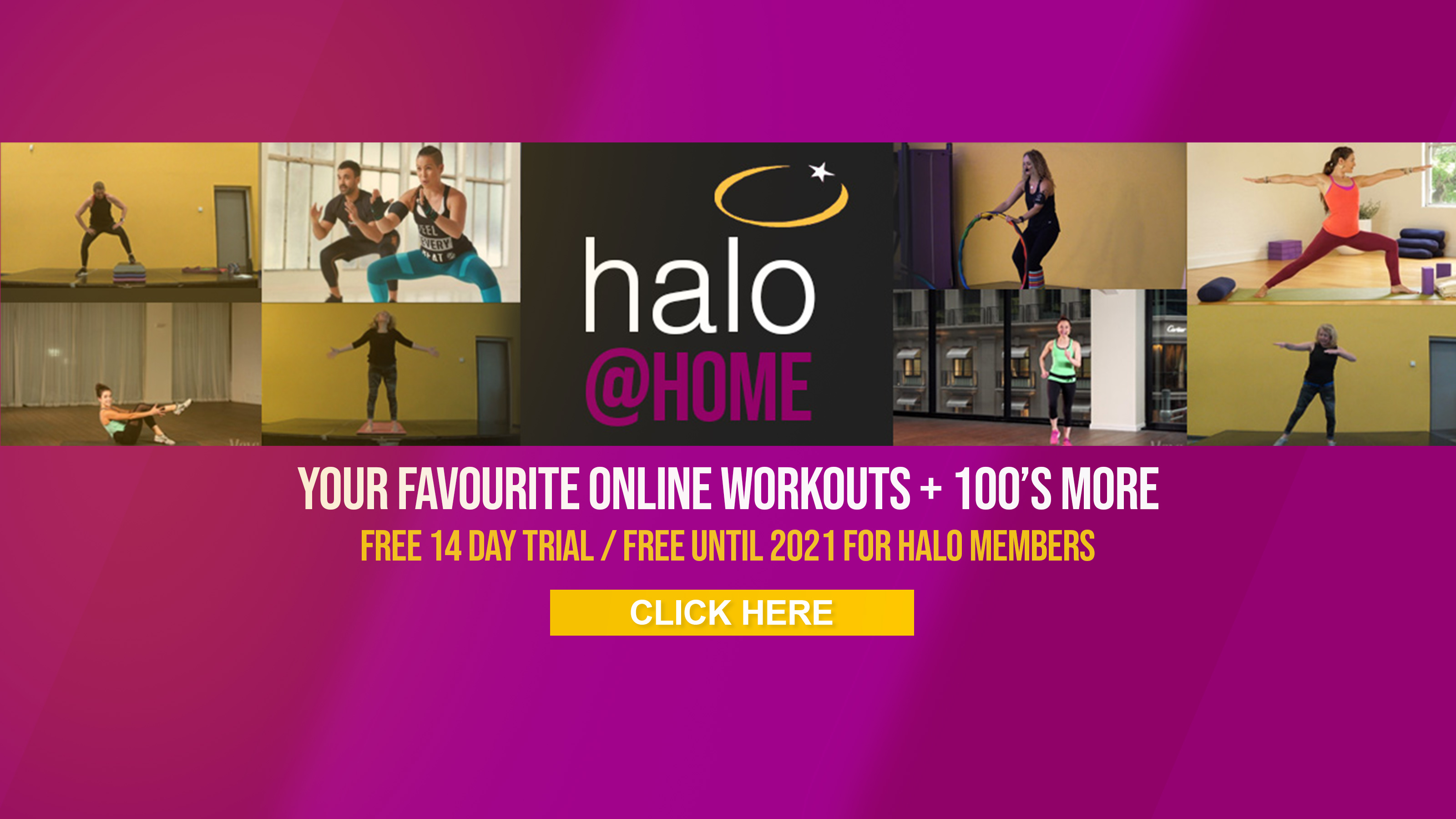 Homepage Banner - Halo at Home